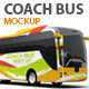 Coach Bus mockup - GraphicRiver Item for Sale