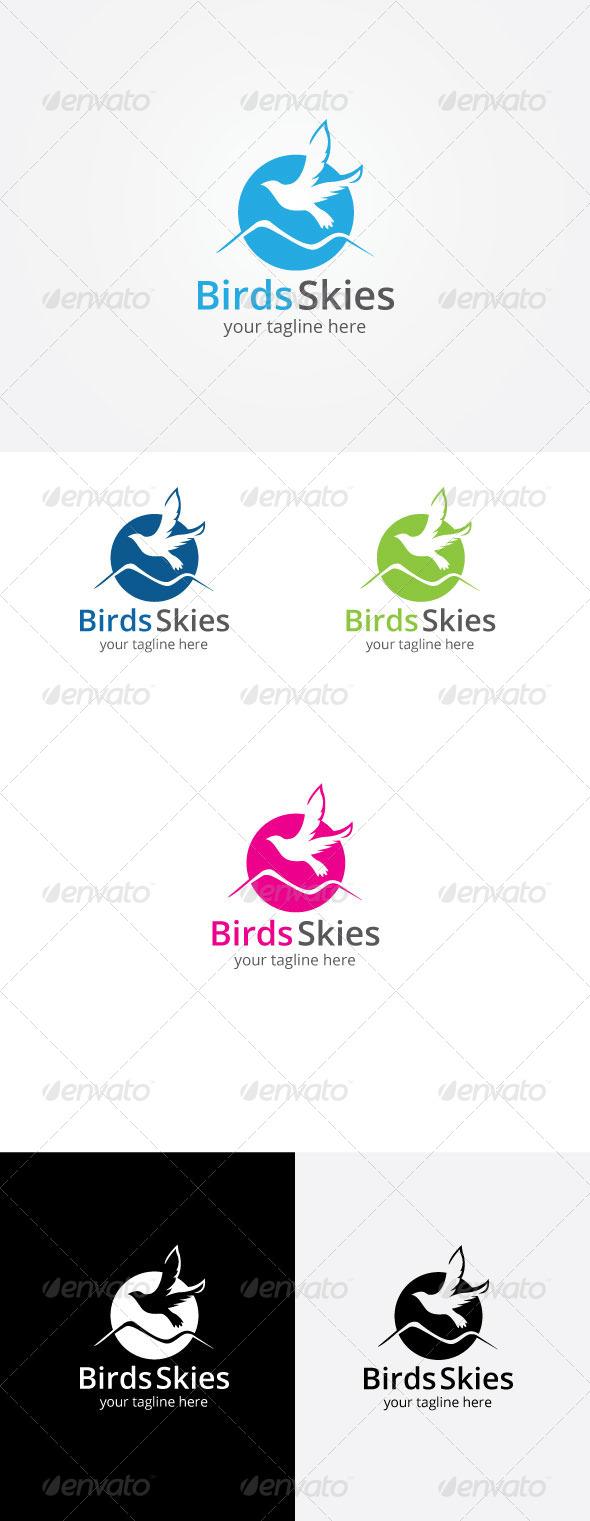 GraphicRiver Bird Sky Logo Template 8171987
