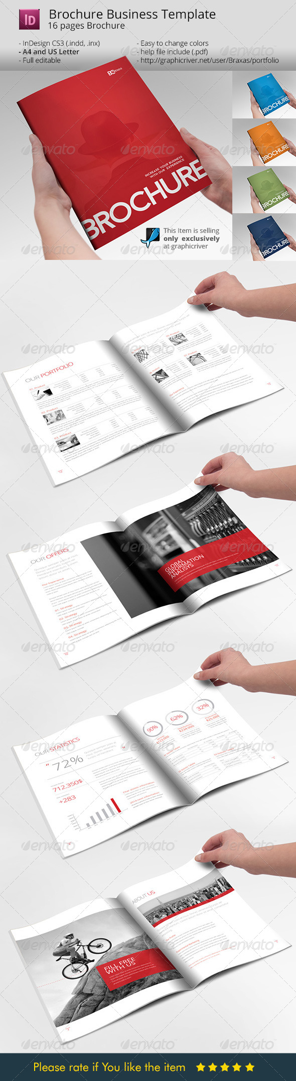GraphicRiver Business Brochure Template 8172160