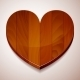 Wooden Heart - GraphicRiver Item for Sale