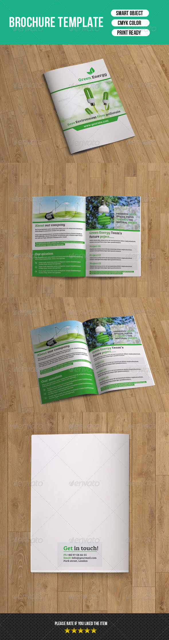 GraphicRiver Green Energy Business Brochure-V87 8172395
