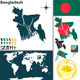 Map of Bangladesh - GraphicRiver Item for Sale