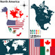 Map of North America - GraphicRiver Item for Sale