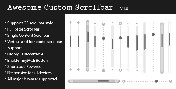 CodeCanyon Awesome Custom Scrollbar 8173128