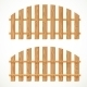Wooden Fences - GraphicRiver Item for Sale
