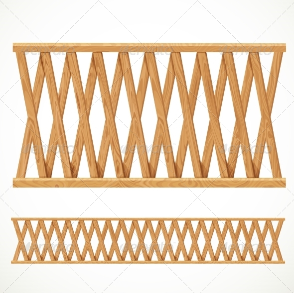GraphicRiver Wooden Fence 8173158