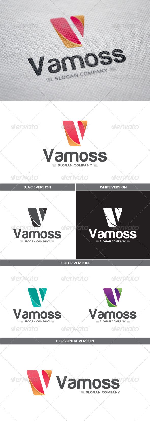 GraphicRiver Vamoss Logo 8173223