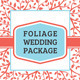 Foliage Wedding Package - GraphicRiver Item for Sale