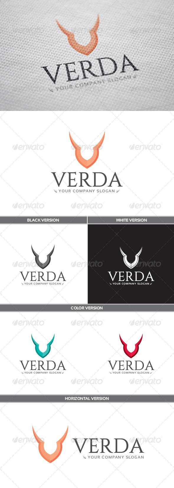 GraphicRiver Verda Logo 8173398