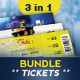 Event Tickets Bundle - GraphicRiver Item for Sale