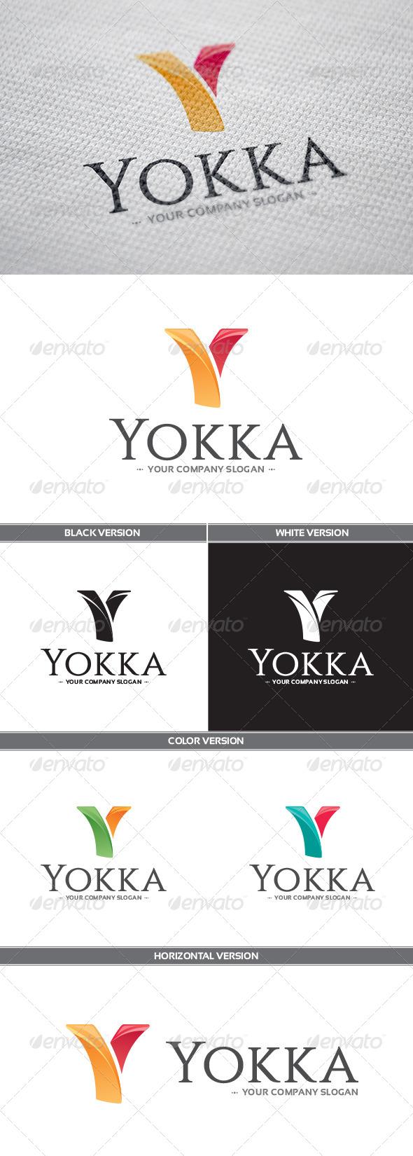 GraphicRiver Yokka Logo 8173567