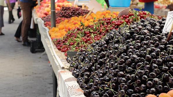 Delicious Black Cherry Heap