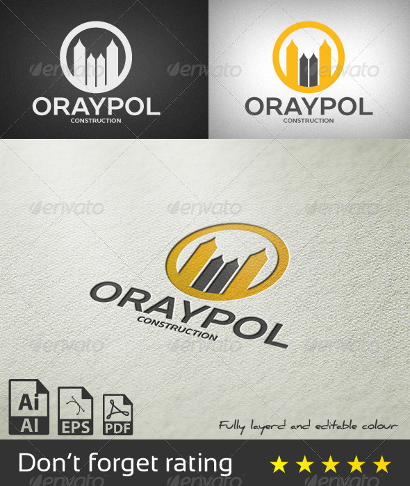 GraphicRiver Oraypol Logo Template 8173837