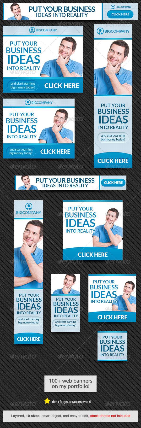 GraphicRiver Corporate Web Banner Design Template 43 8173915