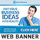 Corporate Web Banner Design Template 43 - GraphicRiver Item for Sale