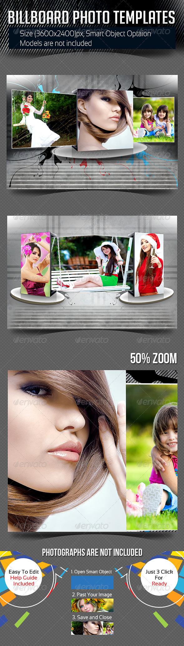 GraphicRiver Billboard Photo Templates 8174049