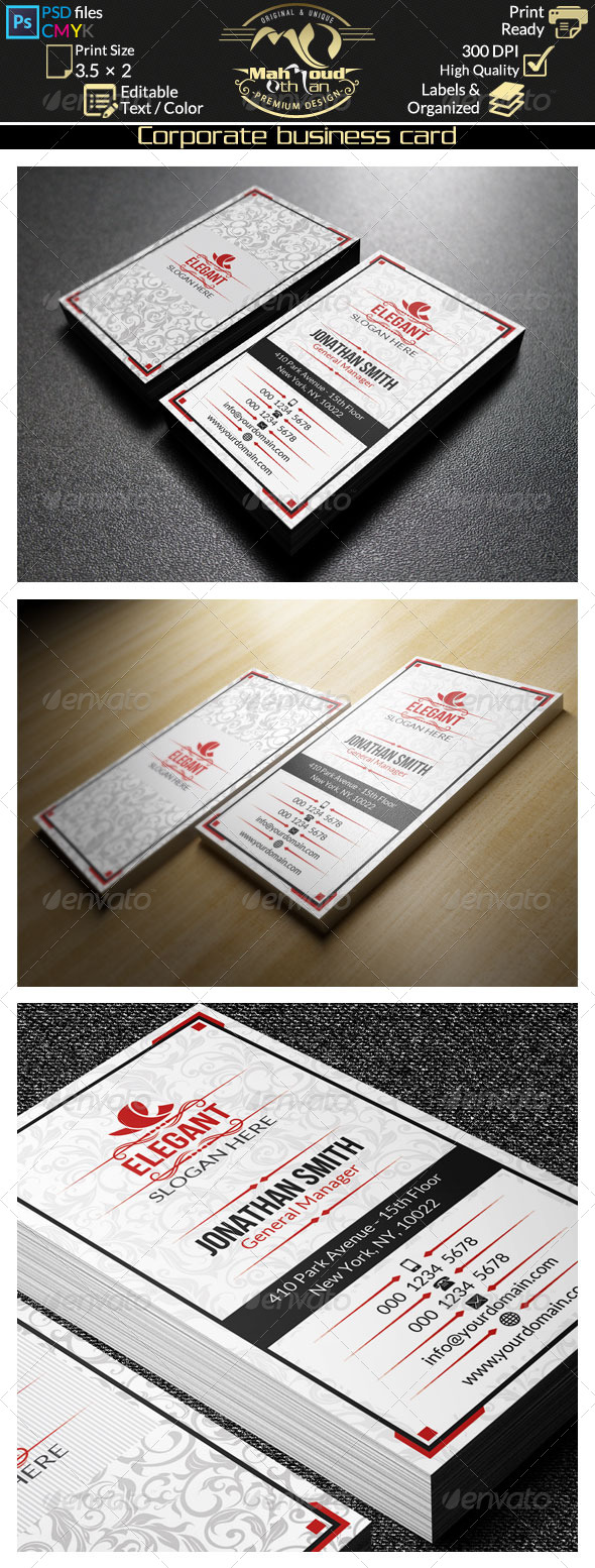 Retro Business Card 33