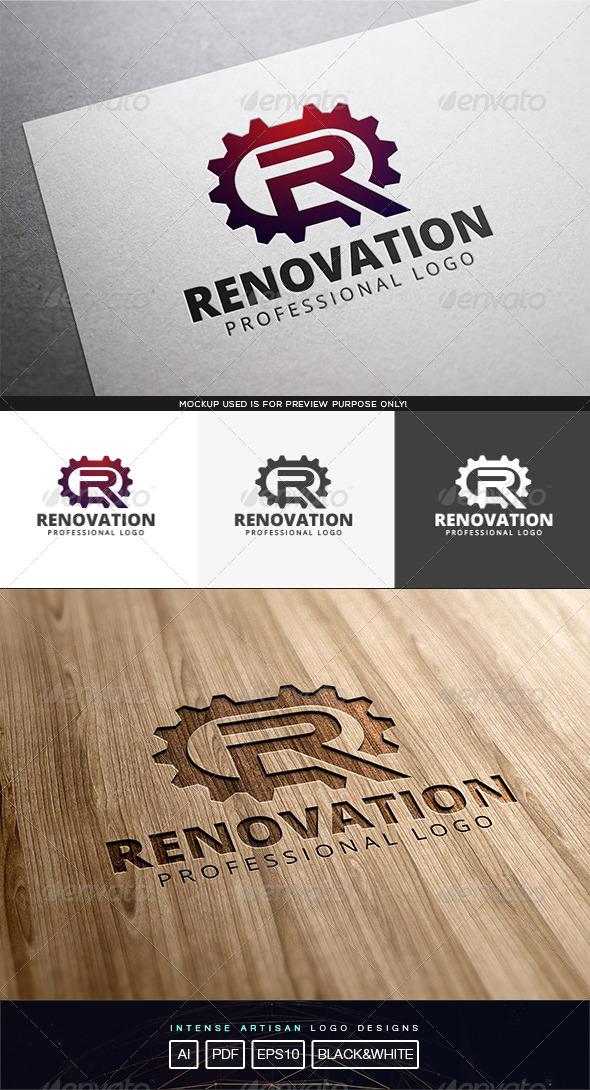 GraphicRiver Renovation Logo Template 8174302