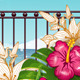 Landscape Tropical Paradise - GraphicRiver Item for Sale