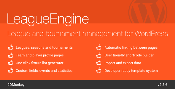 LeagueEngine - CodeCanyon Item for Sale