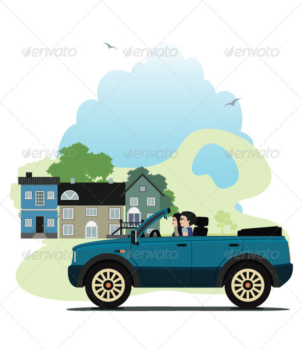 GraphicRiver City Driving 8174763