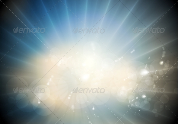GraphicRiver Glowing Sunlight Background 8174852