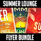 Summer Lounge Flyer Bundle - GraphicRiver Item for Sale