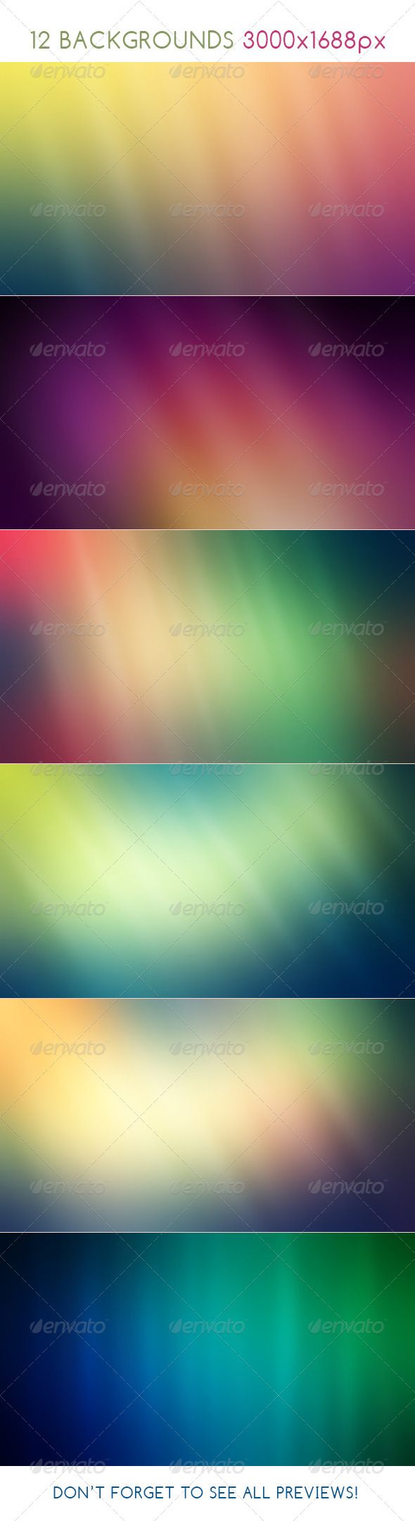 GraphicRiver Burred Backgrounds 8174931