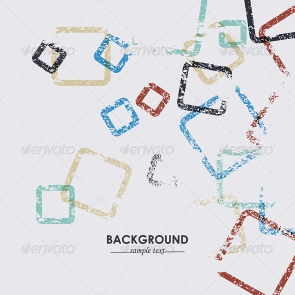 GraphicRiver Abstract Grunge Vector Background Pattern 8174996