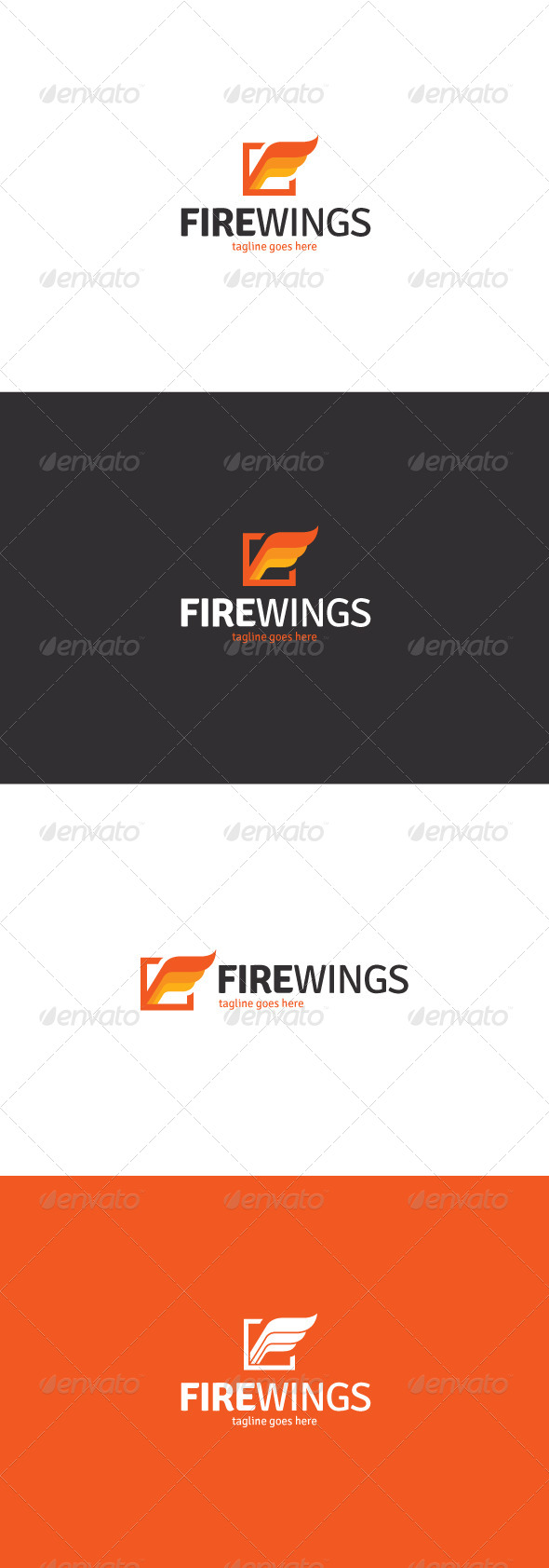 Fire Wings Logo