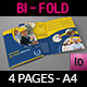 Construction Company Brochure Bi-Fold Template - GraphicRiver Item for Sale