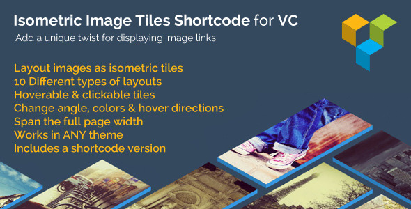 Isometric Image Tiles Shortcode for VC - CodeCanyon Item for Sale
