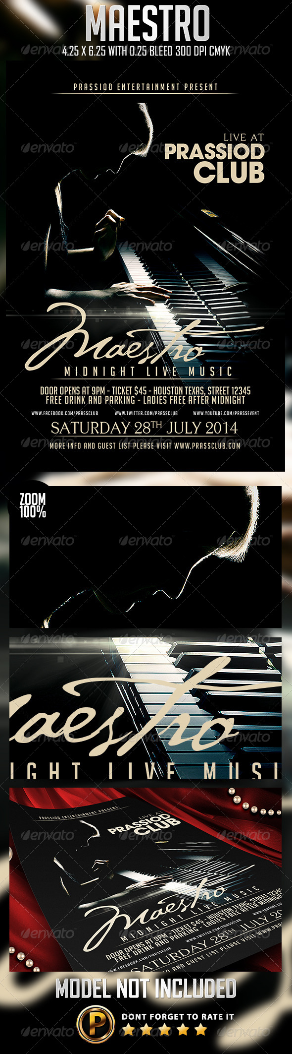 GraphicRiver Maestro Flyer Template 8175487