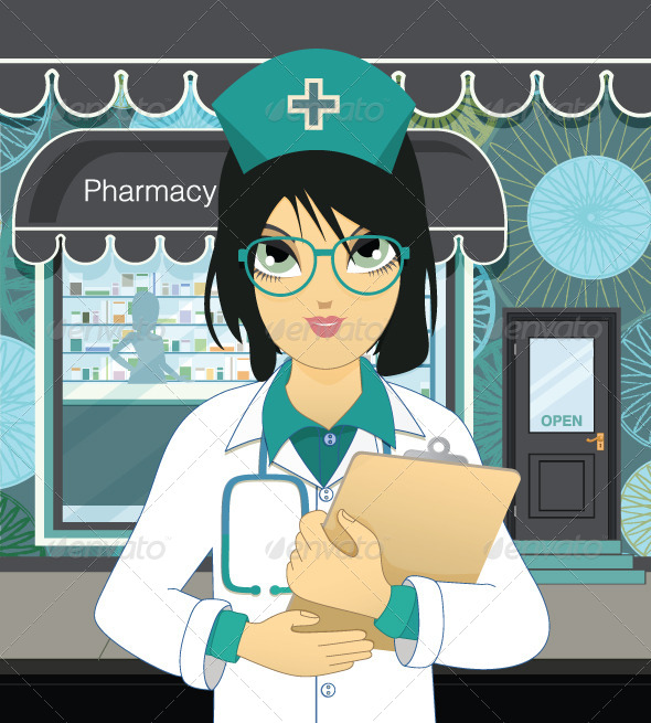 GraphicRiver Pharmacy 8175682