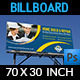 Construction Business Billboard Template Vol.3 - GraphicRiver Item for Sale