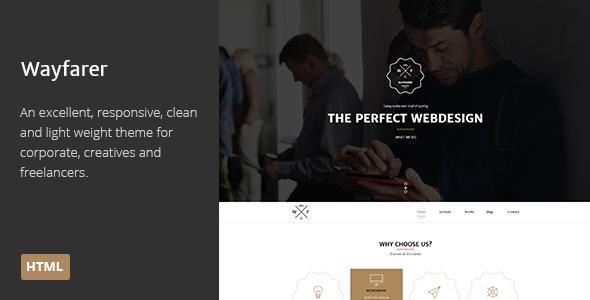 Wayfarer | Multi-Purpose Parallax HTML Theme