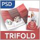 Business Tri-fold Brochure - v002 - GraphicRiver Item for Sale
