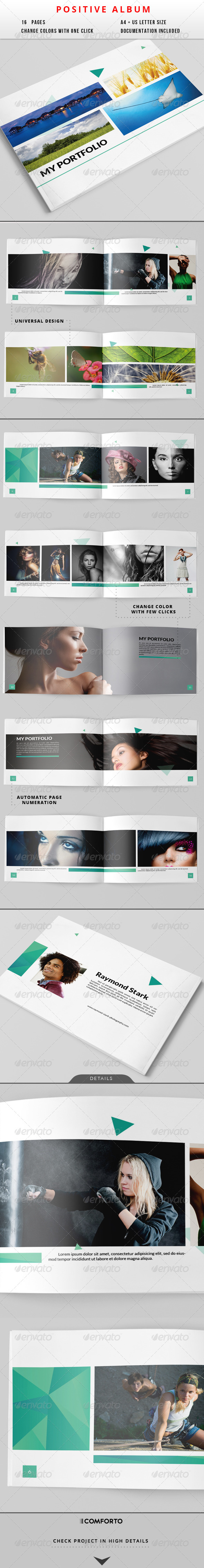 GraphicRiver Positive Album 8177883
