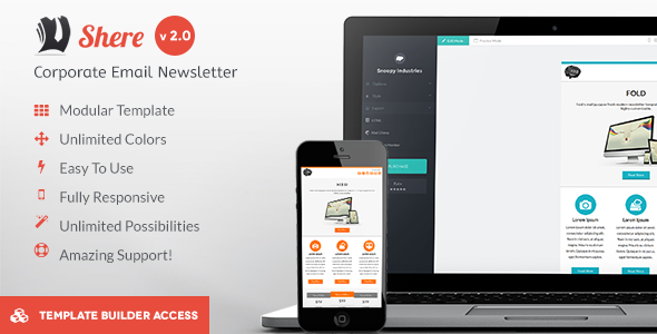 Shere - Corporate Email HTML Template