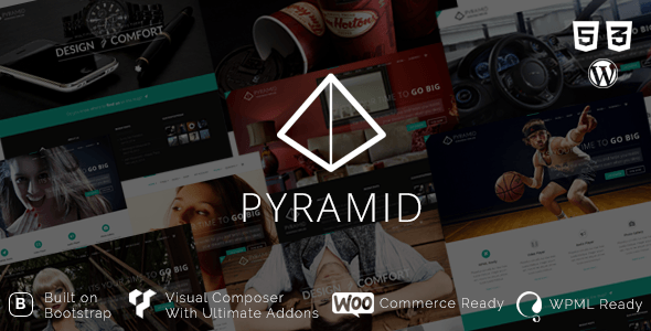 Pyramid - Portfolio for Professionals and Agencies