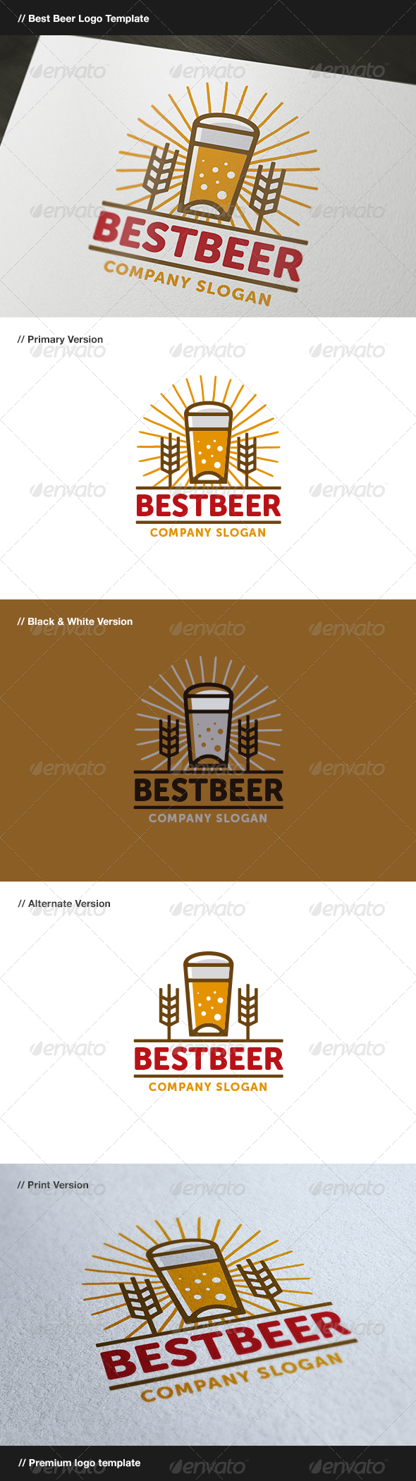 GraphicRiver Best Beer 8160646