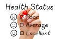Poor Health Status Survey - PhotoDune Item for Sale