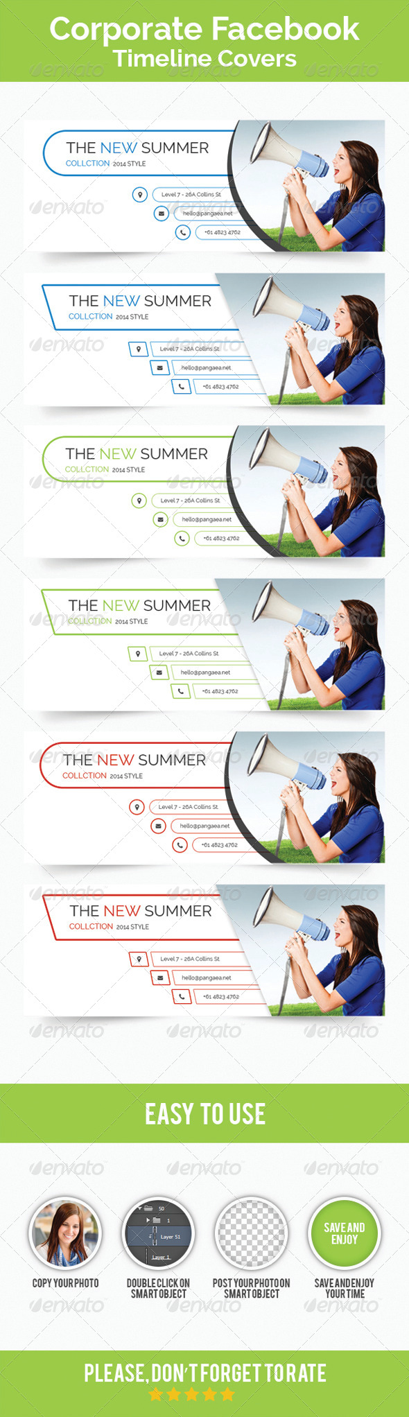 GraphicRiver Corporate Facebook Timeline Covers 8178203