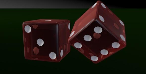3DOcean Casino Dice 8178262