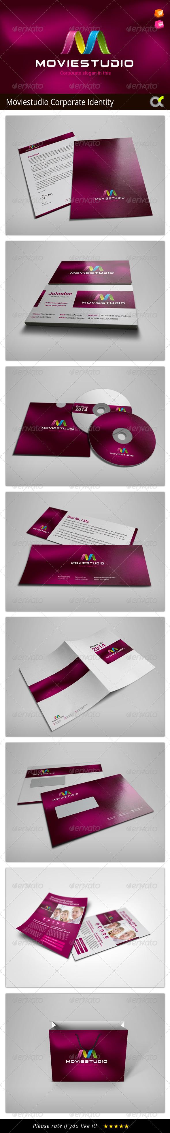 GraphicRiver MovieStudio Corporate Identity 8144846