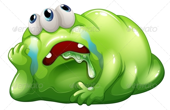 GraphicRiver Disappointed Monster 8178506