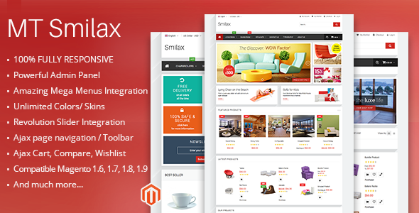 mt smilax 590x300.  large preview - MT Smilax modern responsive magento theme