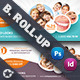 Dentist Billboard Roll-Up Templates - GraphicRiver Item for Sale