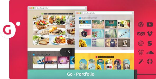 Go - Responsive Portfolio for WP