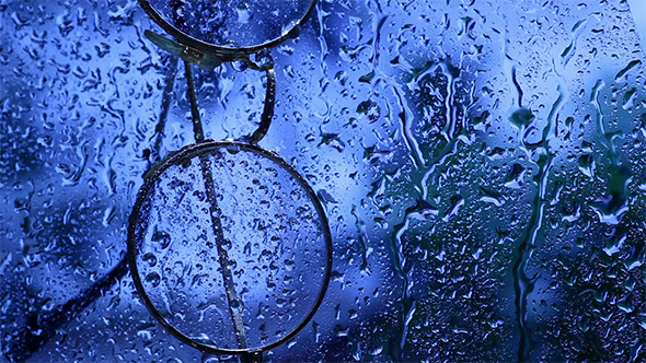 Water Drops Falling 4